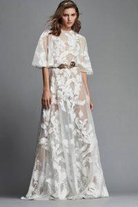 Прозрачное платье невесты на 2019 год