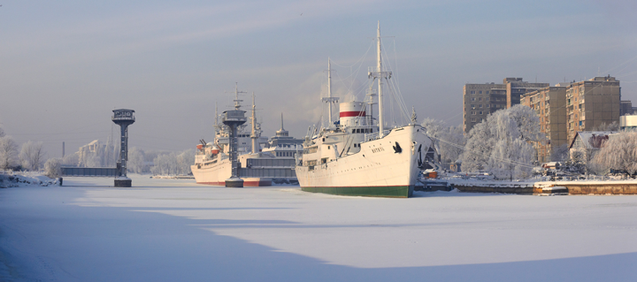Kaliningrad in winter