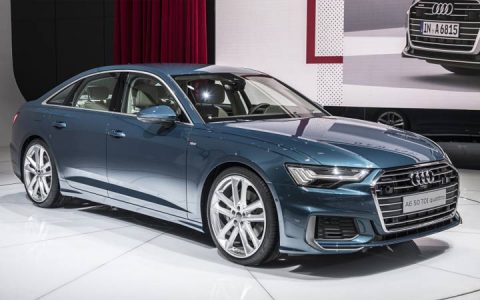 Экстерьер Audi A6 2019