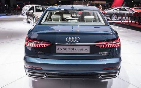 Задняя оптика Audi A6 2019
