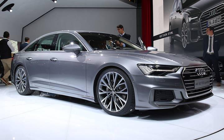 Audi A6 2019 в Женеве