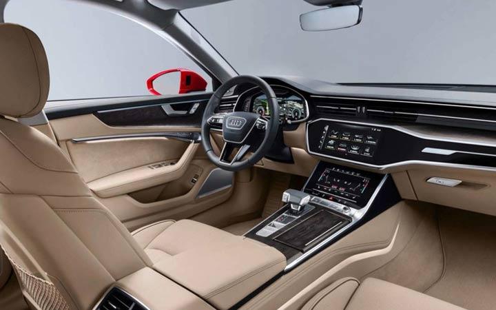 Интерьер Audi A6 2019