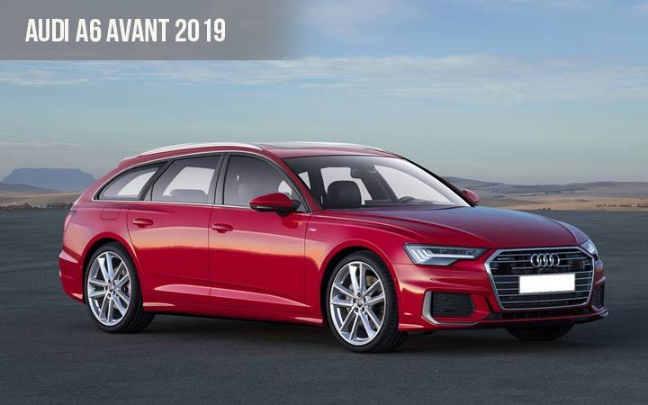 Audi A6 Avant 2019 года
