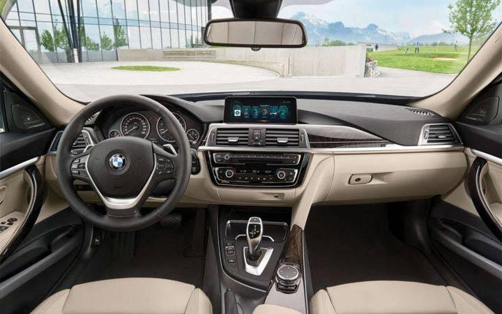 Интерьер BMW 3 series 2018-2019
