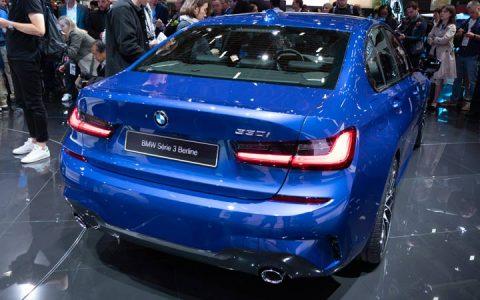 Новый стиль BMW 3-series 2019 года