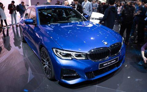 Новая оптика BMW 3-series 2019 года