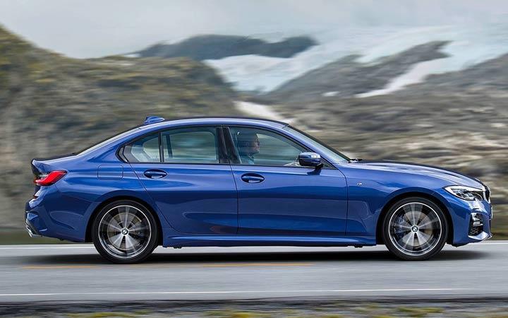 Эффектный дизайн BMW 3-series 2019 года
