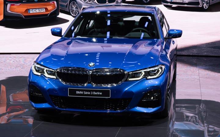 Экстерьер BMW 3-series 2019 года