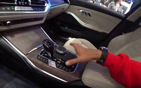 В салоне новой BMW 3-series 2019 года