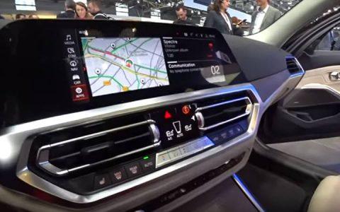 Цифровая панель BMW 3-series 2019 года