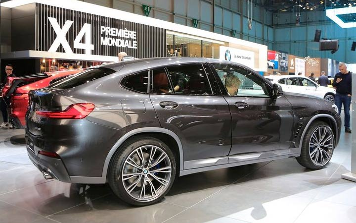 BMW X4 2019 года Женева
