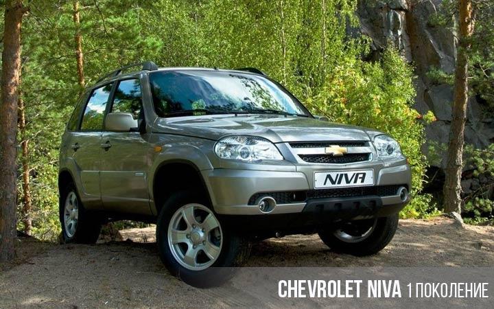 Chevrolet Niva 1 поколение