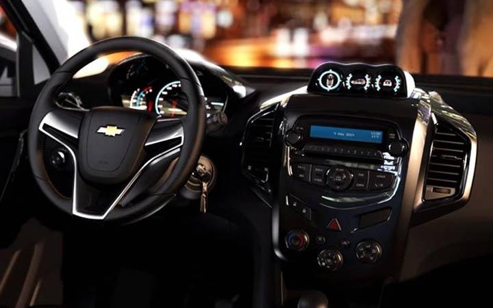 Интерьер прототипа Chevrolet Niva 2