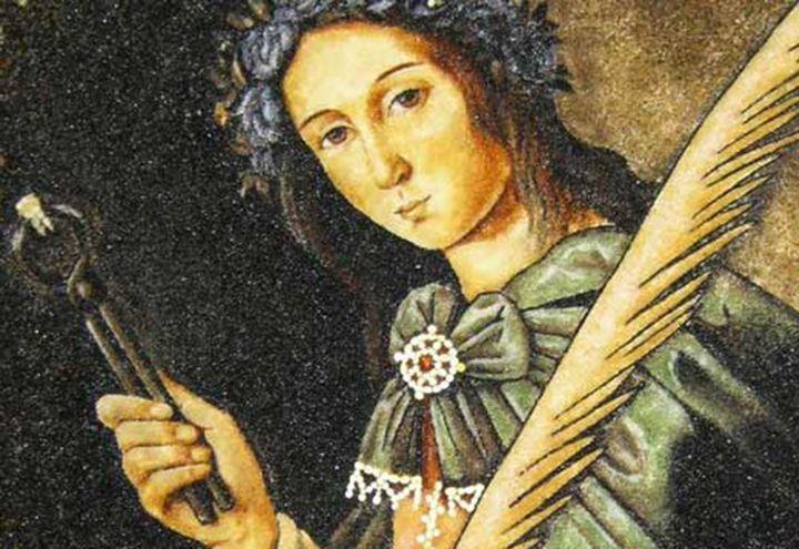 Франсиско де Сурбаран. «Св. Аполлония»