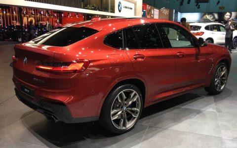 Экстерьер BMW X4 2019 года