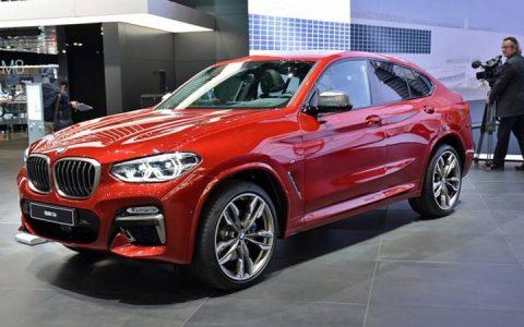 Презентация BMW X4 2019 года в Женеве