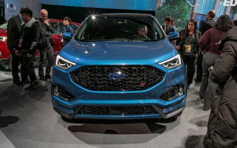 Экстерьер Ford Edge 2019