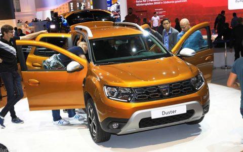 Экстерьер Renault Duster 2019 года