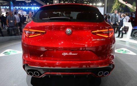Презентация Alfa Romeo Stelvio 2019 года