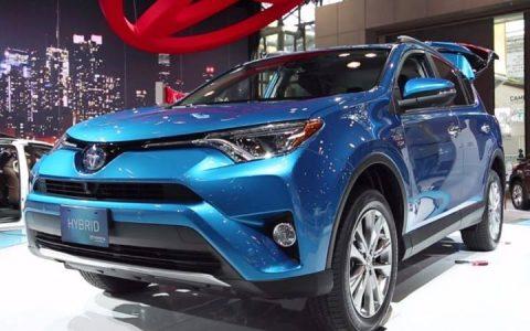Toyota RAV4 гибрид 2019