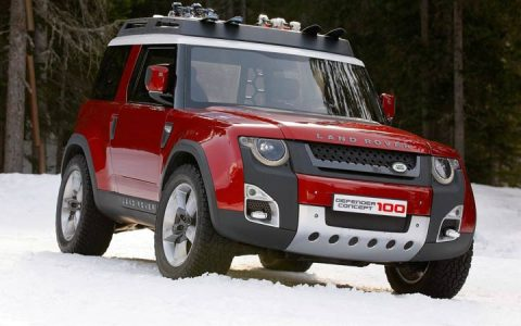 Экстерьер Land Rover Defender 2019