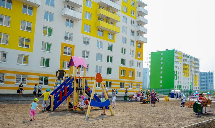 Жилой комплекс для расселения жителей Березняки