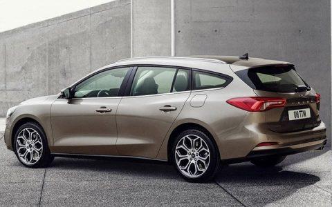 Экстерьер Ford Focus универсал 2019 года
