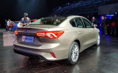 Новый Ford Focus седан 2019 года