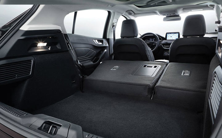 Багажник нового Ford Focus 2018-2019 года