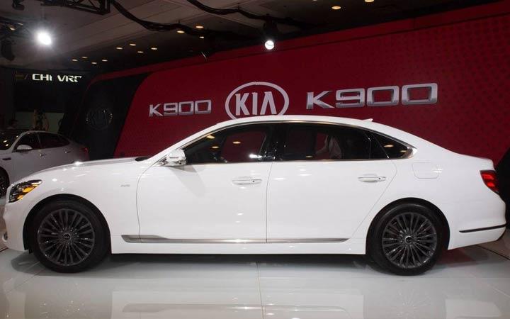 Новый стиль Киа К900 2018-2019 года
