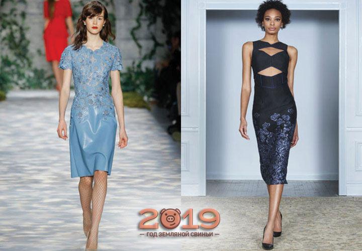 Элегантные платья на 2018-2019 год