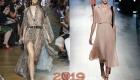 Платье светлых оттенков 2018 год