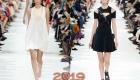 Белое и черное платье 2018-2019 года