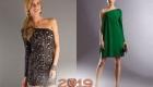 Короткое платье 2018-2019 года
