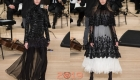 Роскошное платье от Шанель осень-зима 2018-2019