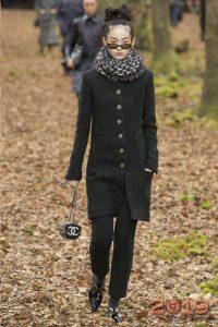 Модный лук от Chanel зима 2018-2019