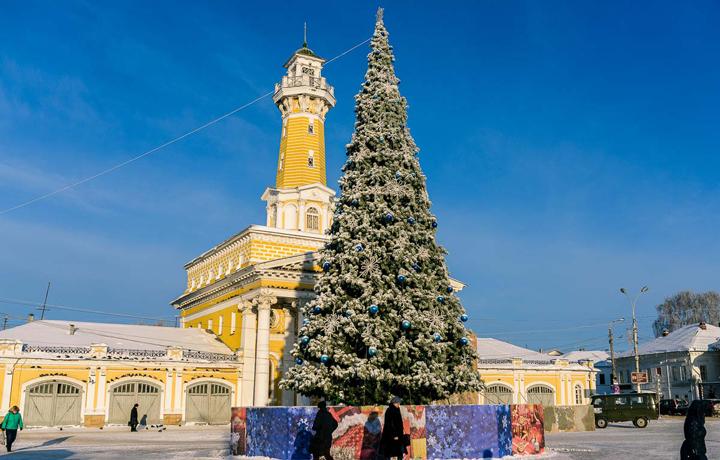 Главная елка Костромы