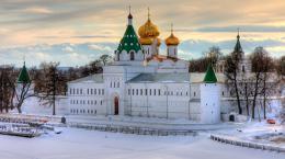 Кострома зимой