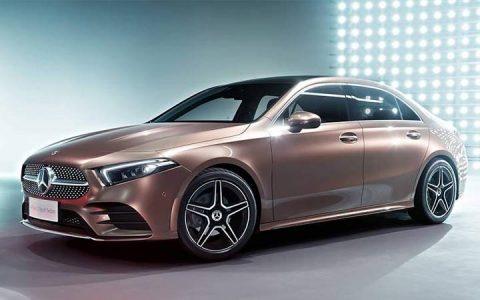 2019 Mercedes A-Class Пекин 2018-2019
