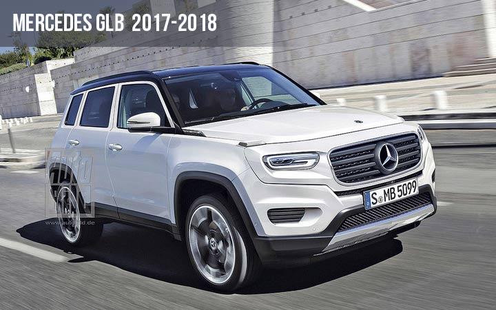 Mercedes GLB 2017-2018