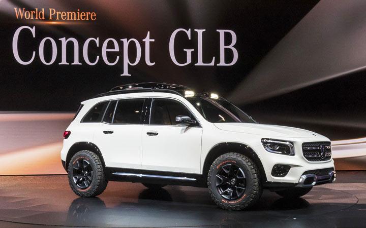 Премьера нового Mercedes GLB 2019-2020