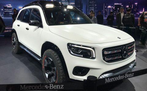 Экстерьер Mercedes GLB 2019-2020