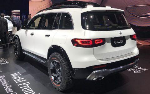 Технические характеристики Mercedes GLB 2019-2020