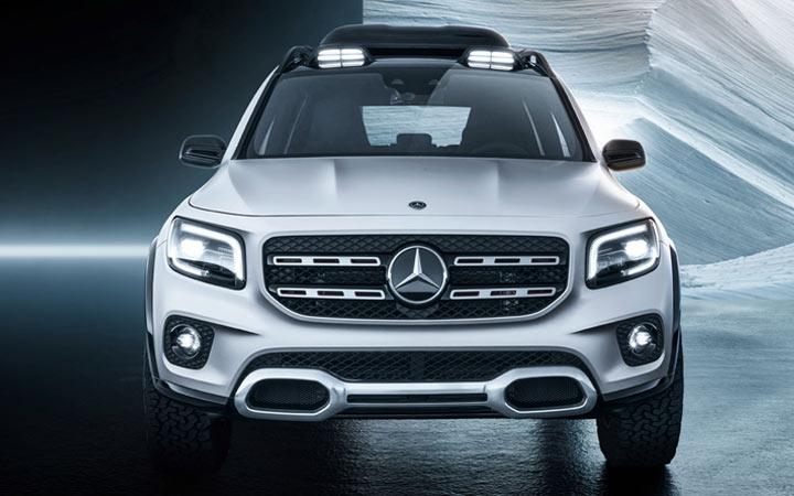 Силовые агрегаты нового Mercedes GLB 2019-2020