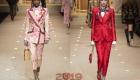 Костюмы Dolce & Gabbana зима 2018-2019