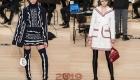 Женские костюмы с юбкой от Шанель 2018-2019 год