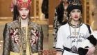 Шапки от Dolce & Gabbana осень-зима 2018-2019