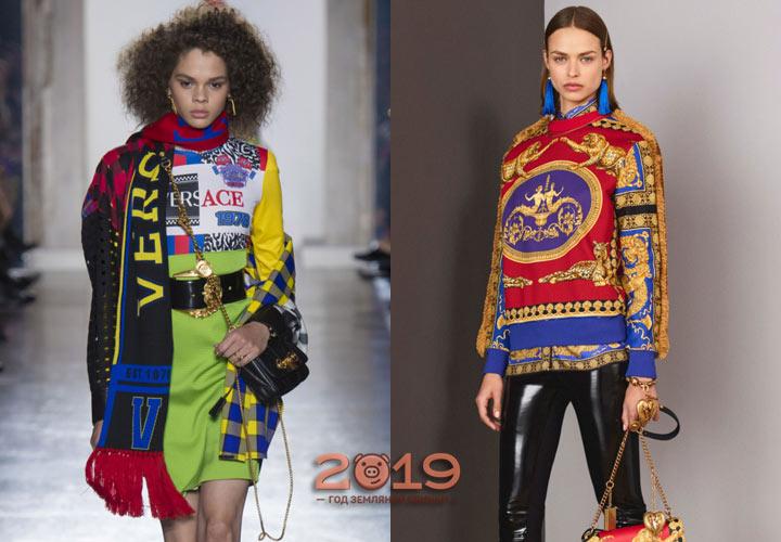 Модный свитшот 2018-2019