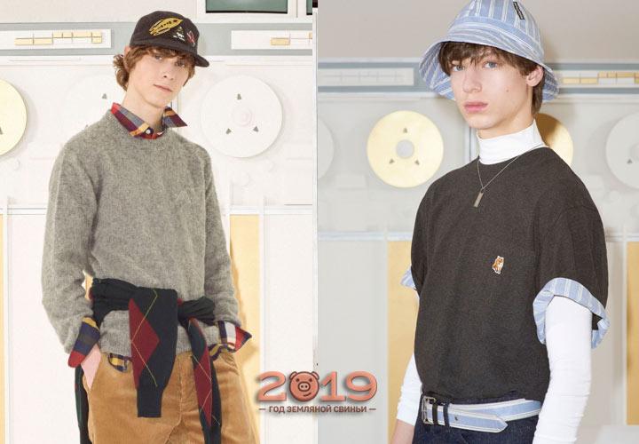 Модные мужские образы 2018-2019 года