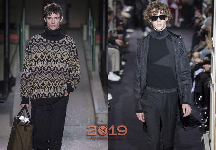 Мужская мода зима 2018-2019